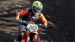 MXGP, in Sardegna Tony Cairoli cade in qualifica e non si presenta in gara-1