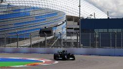 F1, nelle prime libere di Sochi primo Bottas. Buoni segnali dalla Rossa