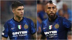 Inter di scena a Firenze: Vidal e Correa non ci saranno