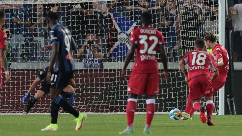 Serie A, Atalanta-Fiorentina 1-2: Vlahovic di rigore, grande Viola