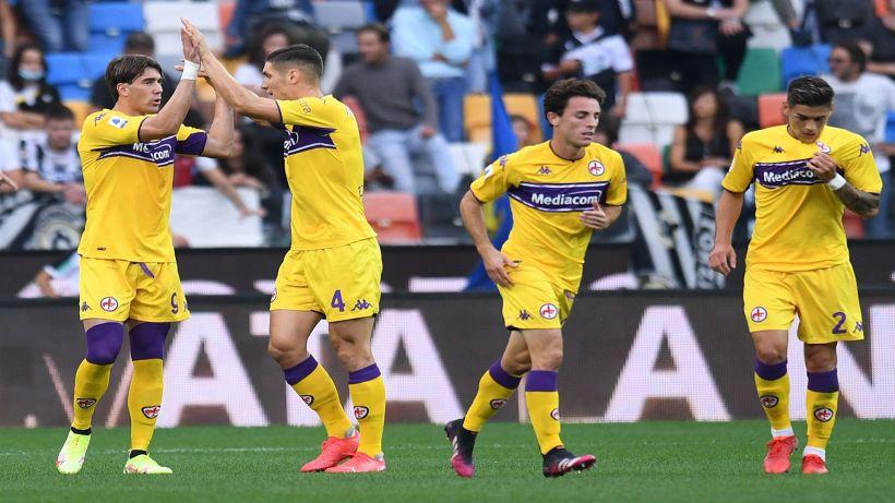 Serie A, Vlahovic su rigore: la Fiorentina vince 1-0 con l'Udinese