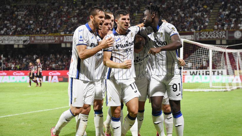Salernitana-Atalanta 0-1: lampo di Zapata, Gasperini torna al successo