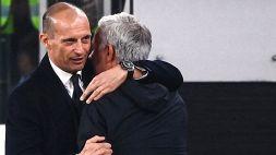 """Allegri applaude la Roma: """"Avrebbe meritato il pareggio"""""""