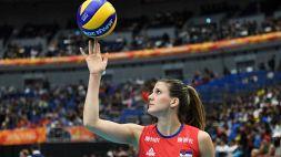 Volley, la Nazionale serba Ana Bjelica a Vellefoglia