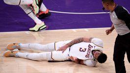 """NBA, Anthony Davis: """"Ginocchio? Vediamo come sta nelle prossime ore"""""""