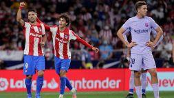 LaLiga, il Barcellona casa anche al Wanda Metropolitano: decidono Lemar e Suarez