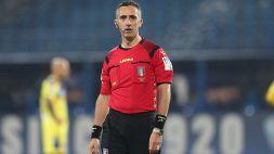 Gli arbitri della 10a giornata di Serie A