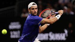 Tennis, Berrettini elogia Sinner e crede nella Coppa Davis