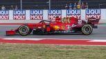 F1, ultime libere Austin: la Ferrari di Sainz bracca la Red Bull di Perez