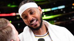 NBA, Carmelo Anthony conquista i Lakers e LeBron James lo loda
