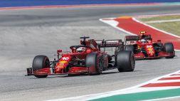 Ferrari: la soddisfazione di Leclerc, la rabbia di Sainz, l'ottimismo di Binotto