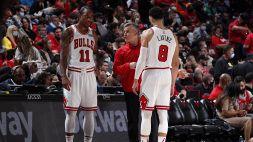 NBA: Chicago vince ancora, riscatto Brooklyn