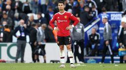 Ronaldo a secco da tre gare in Premier, lo United crolla