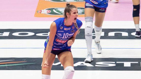 Volley, Chirichella carica Novara prima dell'eterna sfida all'Imoco