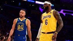 Lakers in ritardo: festa Golden State