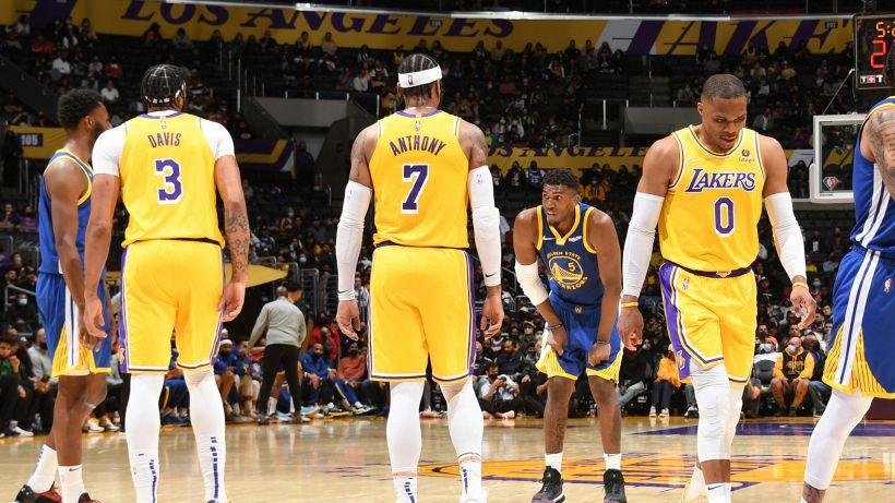 """Preseason NBA: Lakers, la prima dei 'Big Three"""" è un flop"""