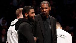 """Nba, Durant: """"Irving non cambierà idea, situazione non ideale"""""""