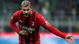 Il Milan ritrova Theo Hernandez: è guarito dal Covid-19