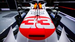 F1: le foto della Red Bull in livrea bianca