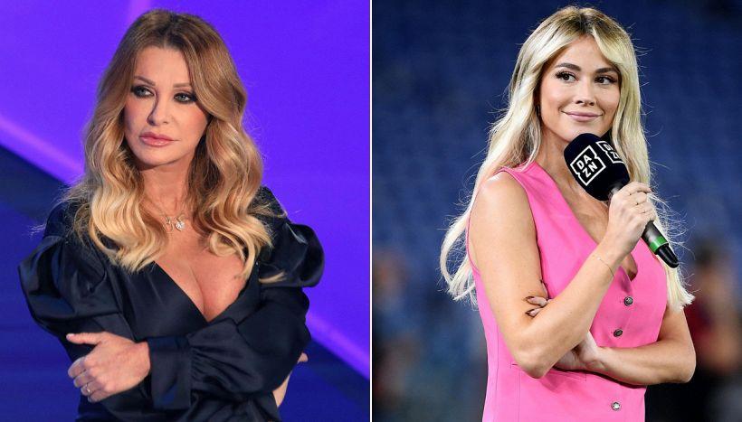 Per difendere Melissa Satta, Paola Ferrari allude a Diletta Leotta?