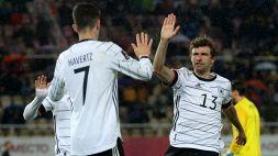 Qualificazioni Mondiali, risultati 7ª giornata: Germania qualificata