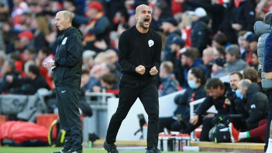 Liverpool-City, sputi sullo staff di Guardiola