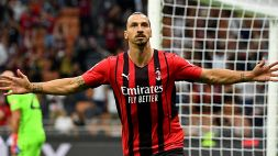 Milan, Zlatan Ibrahimovic fa esplodere Pioli e i tifosi di gioia