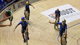 Ciclismo su pista, Ganna e compagni miglior squadra ai Giochi