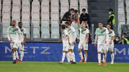 La Juve cade allo Stadium: il Sassuolo passa all'ultimo respiro