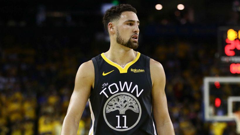"""NBA, Klay Thompson: """"Vorrei avvicinarmi a Curry in triple segnate all-time"""""""