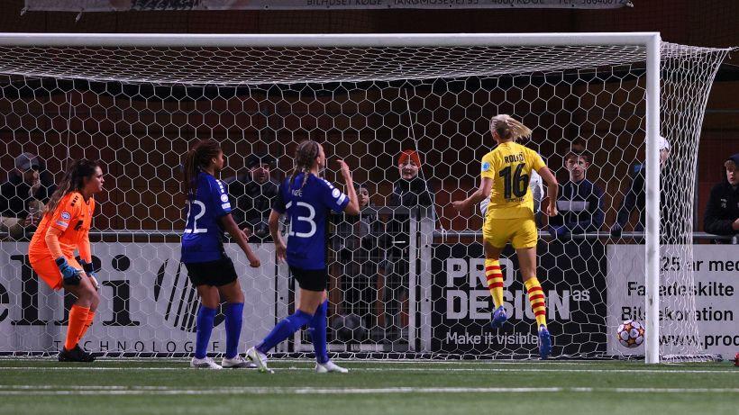 Champions League donne: vince il Barcellona, goleade di Lione, Arsenal e Bayern