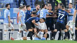 Lazio-Inter, gol Anderson: Inzaghi lo accetta, Sarri è una furia
