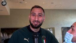 Donnarumma fa una promessa ai tifosi del Milan: tatuaggio e cuore