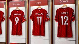 Premier League, Liverpool-Manchester City: le formazioni ufficiali