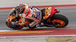 """Motogp, Marquez: """"Non mi aspettavo la pole di Bagnaia"""""""