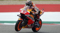 """Motogp, Marquez vede Misano: """"Ogni gara miglioro di più"""""""