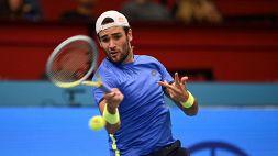 ATP Vienna: Matteo Berrettini nei quarti di finale