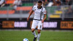Spezia: Mehdi Bourabia fuori almeno due mesi