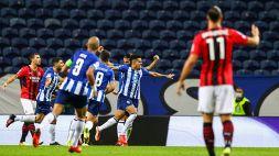 Champions League: Porto-Milan 1-0, le foto