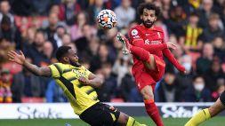 """Salah nella storia, Klopp: """"E' il più forte al mondo"""""""