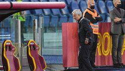Mourinho si fa espellere, Roma-Napoli senza lo Special One