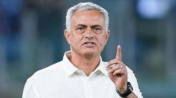 Juve-Roma, messaggio di Mourinho ad Allegri e all'arbitro Orsato