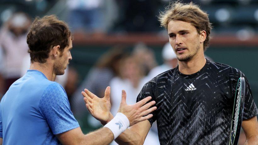 """Zverev, che maratona contro Murray: """"Bentornato"""""""