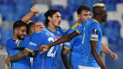 Europa League 2021/2022: Napoli-Legia Varsavia 3-0, le foto