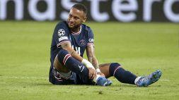 PSG, si ferma Neymar: problema all'adduttore