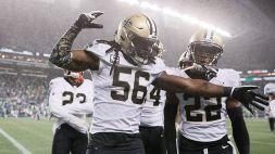 Monday Night NFL: vittoria in volata dei Saints