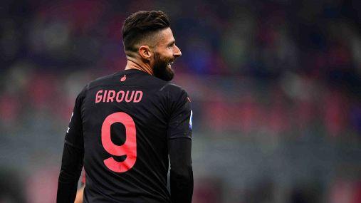 Giroud eguaglia Balotelli: in goal col Milan nelle prime tre a San Siro