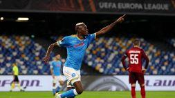 È sempre Osimhen: il Napoli si sblocca in Europa League
