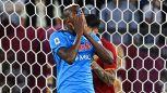 Serie A: la Roma frena il Napoli, espulsi Mourinho e Spalletti