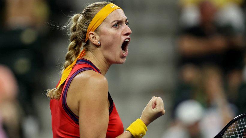 """Tennis, l'annuncio di Kvitova: """"La mia stagione finisce qui"""""""